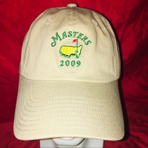 The Masters Cap Khaki embroidery green,yellow red